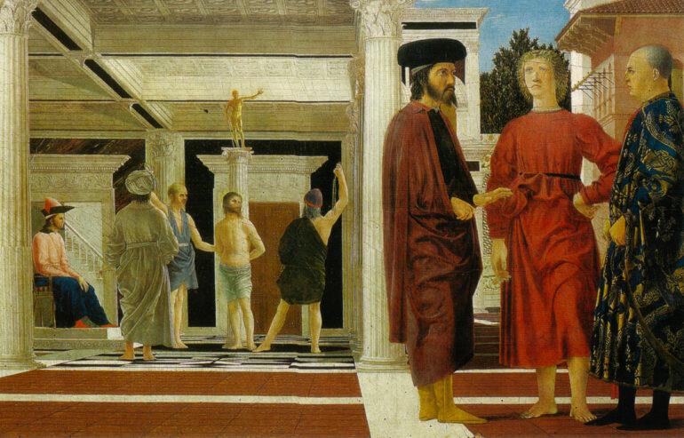 Piero Della Francesca - flagellazione
