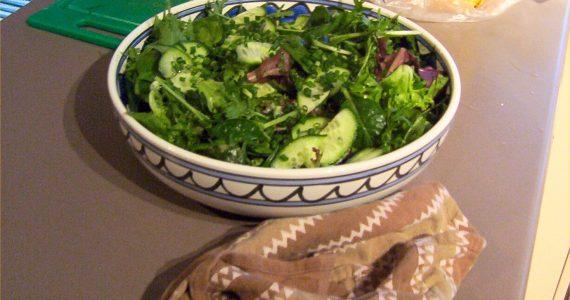 insalata feta avocado