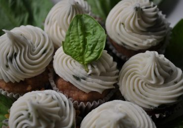 cupcake mandorle basilico