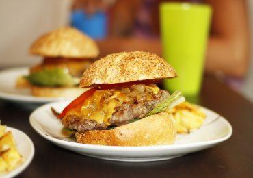 hamburger vegano di soia