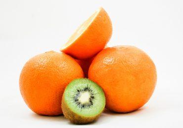 Arance e kiwi sciroppati