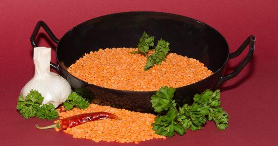 Polpette con amaranto e lenticchie rosse nella dieta per dimagrire.