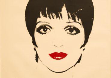 Liza Minelli, 1978, Screenprint on paper, 121.9x111.7cm