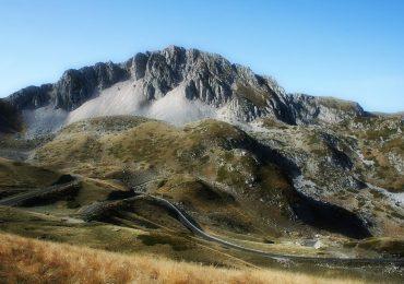 Monte Terminillo spada nella roccia