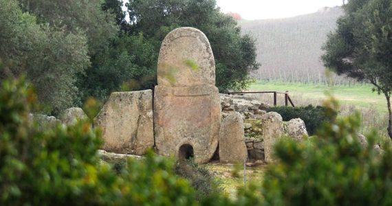 Archazena tomba Coddu Vecchiu